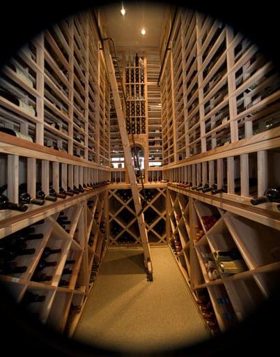 Orange County California Custom Wine Cellar Design