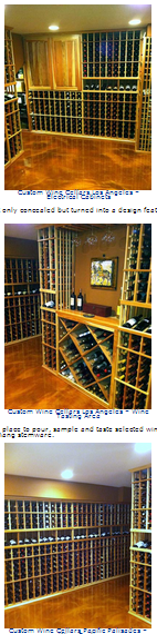 Premium Redwood Wine Racks