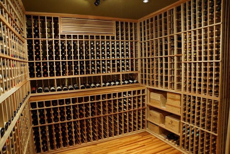 Custom wine cellars orange county wine geek part three for How to make a wine cellar rack