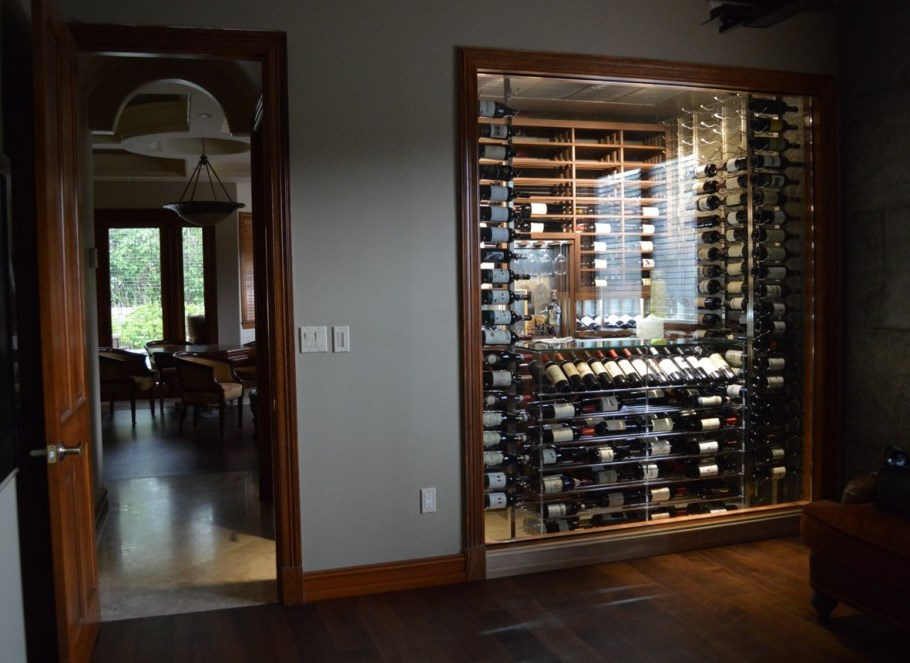 Contemporary Wine Cellar & Residential Wine Room Miami Florida in a Contemporary Design
