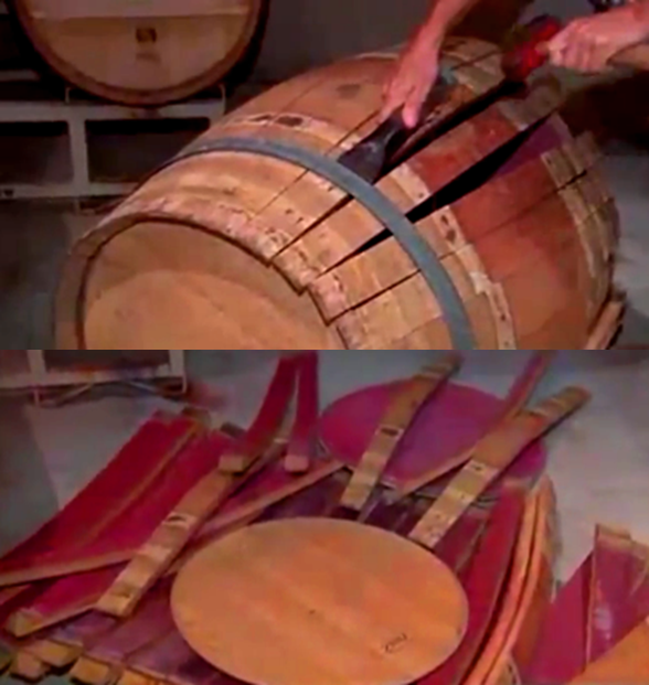 Wine Barrel Stave and Infusion