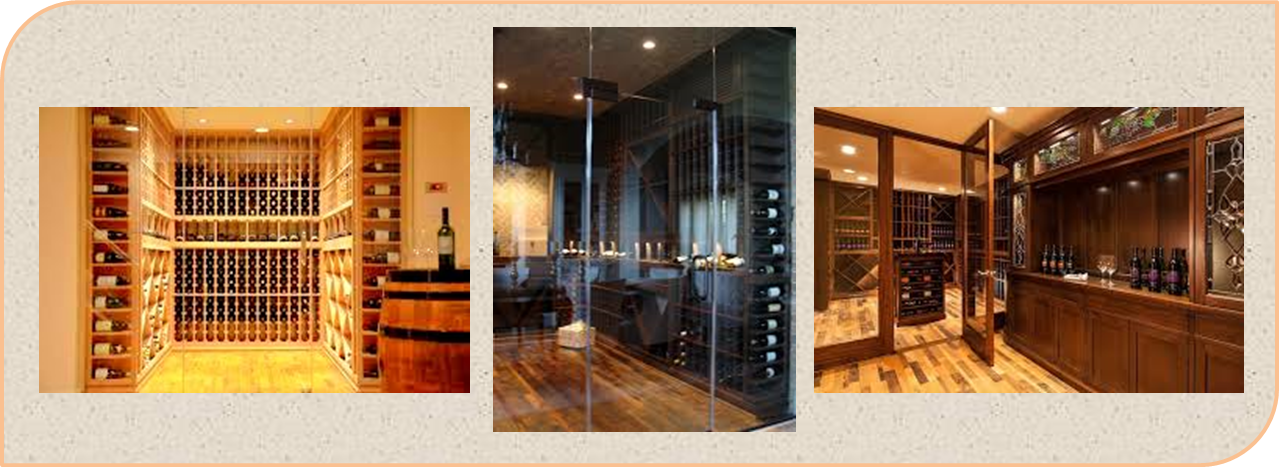 Wine Cellar Designs Featuring Reclaimed Wine Barrel Flooring