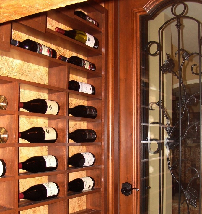 Label Forward Wine Bottle Storage