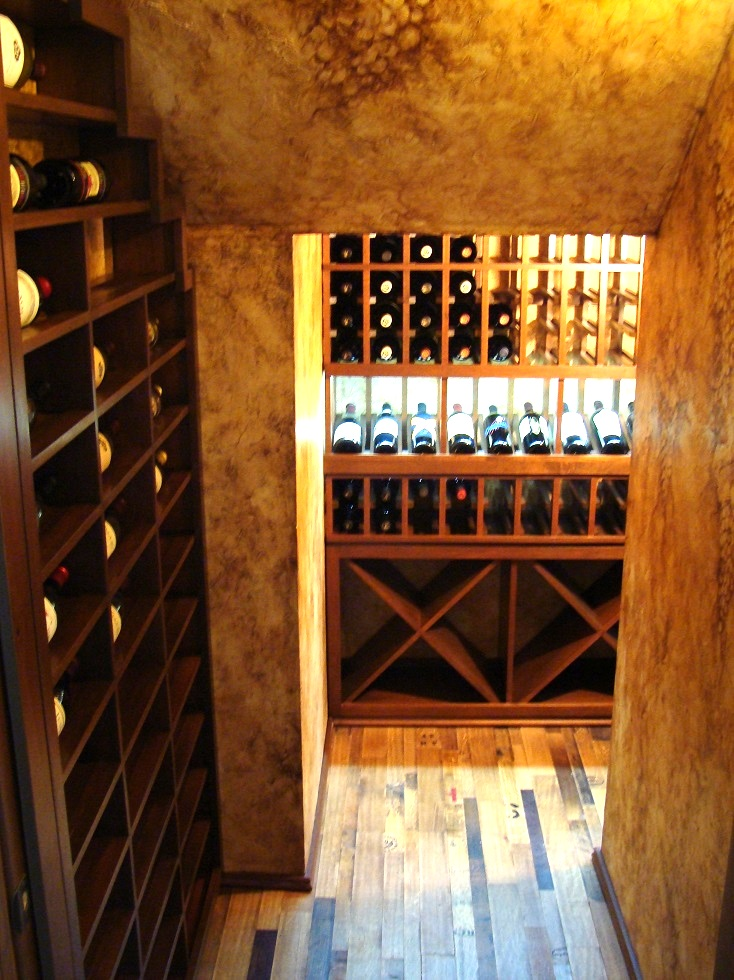 Residential Wine Room Orange County