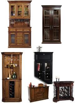 Examples of Wine Cabinets