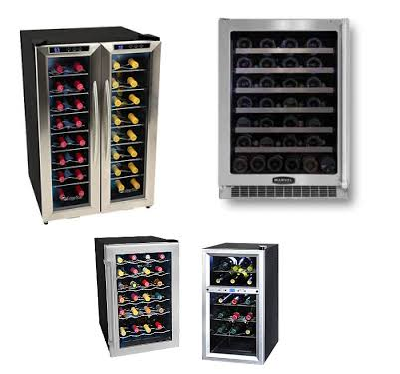 Examples of Wine Fridges