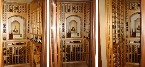 Custom Wine Cellar California