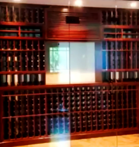Beverly Hills Residential Wine Room