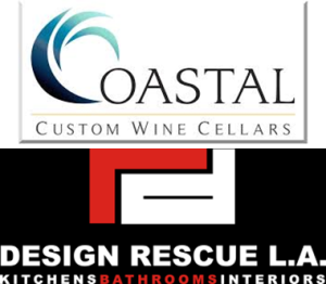 Beverly Hills Wine Cellar Design by Coastal and Design Rescue LA