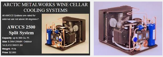 Split Wine Cellar Refrigeration
