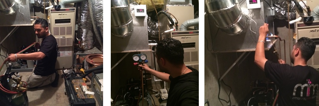 Installing an HS Series Cooling Unit in a Wine Cabinet in Beverly Hills, California
