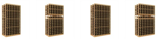 Double Deep Wine Racks