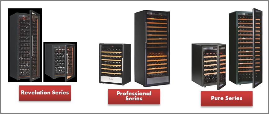 EuroCave Wine Fridges (Revelation, Professional, and Pure Series