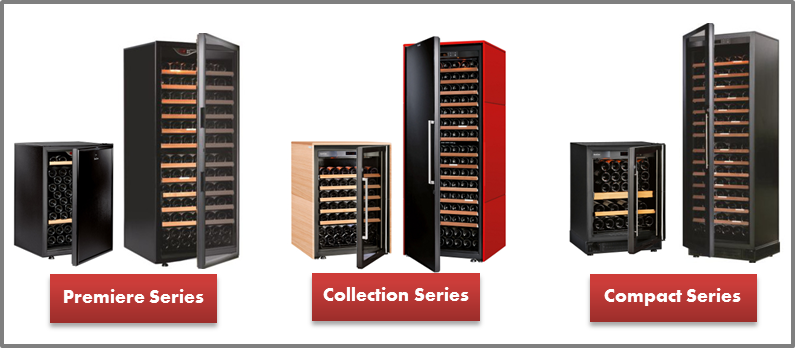 Eurocave Wine Fridges (Premiere, Collection, and Compact Series)