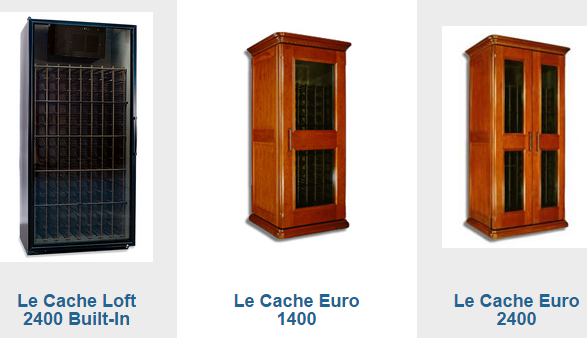 Le Cache Wine Fridges