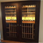 Finished Los Angeles Home Wine Cellar